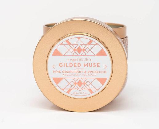 Pink Grapefruit & Prosecco Gilded Tin, 12.5oz