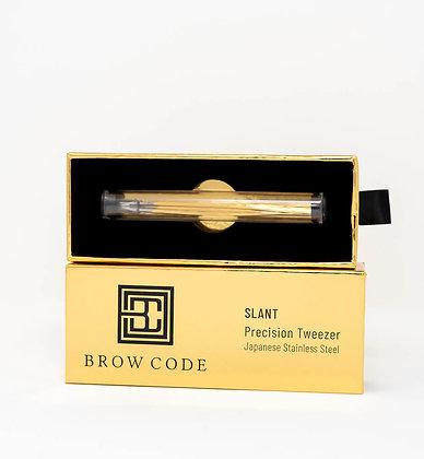 Brow Code Slant Precision Tweezers