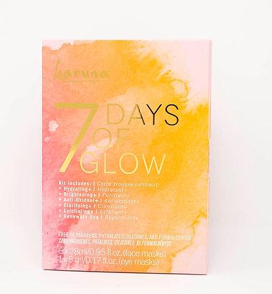 7 Days of Glow Sheet Masks
