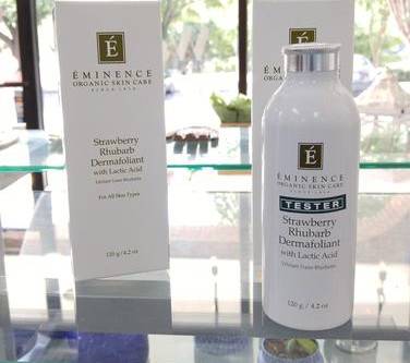 Eminence Organics Strawberry Rhubarb Dermafoliant and why it's so darn amazing!