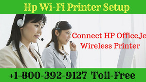 Learn how to connect HP OfficeJet wireless printer via Hp Printer Setup team?