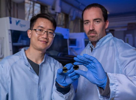 ANU sets efficiency record for 1 cm2 perovskite solar cell