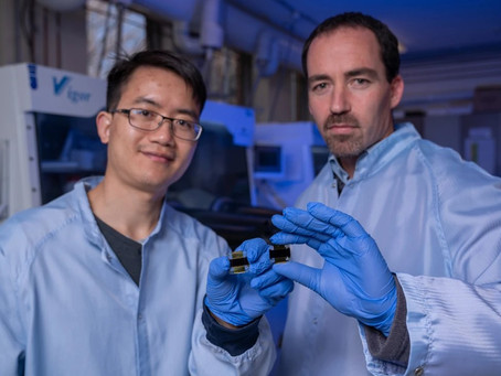 ANU sets efficiency record for 1cm2 perovskite solar cell
