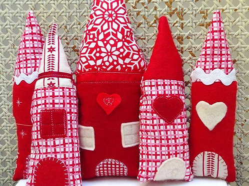 Christmas Houses Pattern