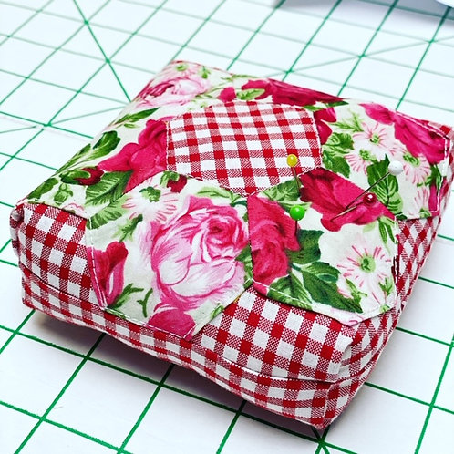 Patchwork Pincushion - Paper Piecing