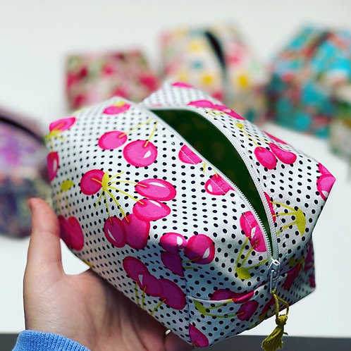 Boxy Make Up Bag Class
