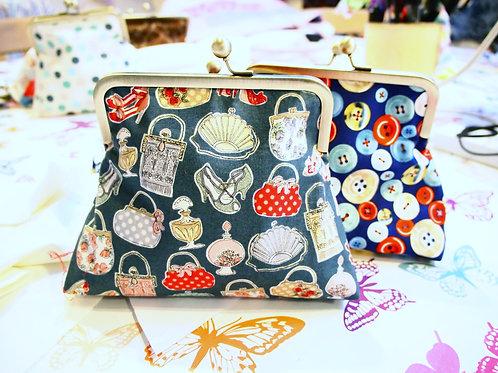 Clasp Clutch Bag