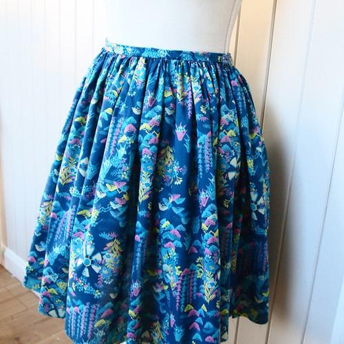 Gathered Skirt