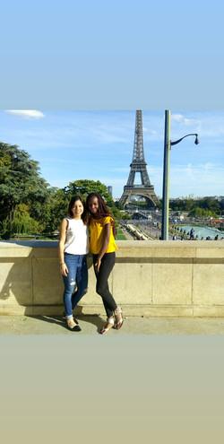 placée à Paris