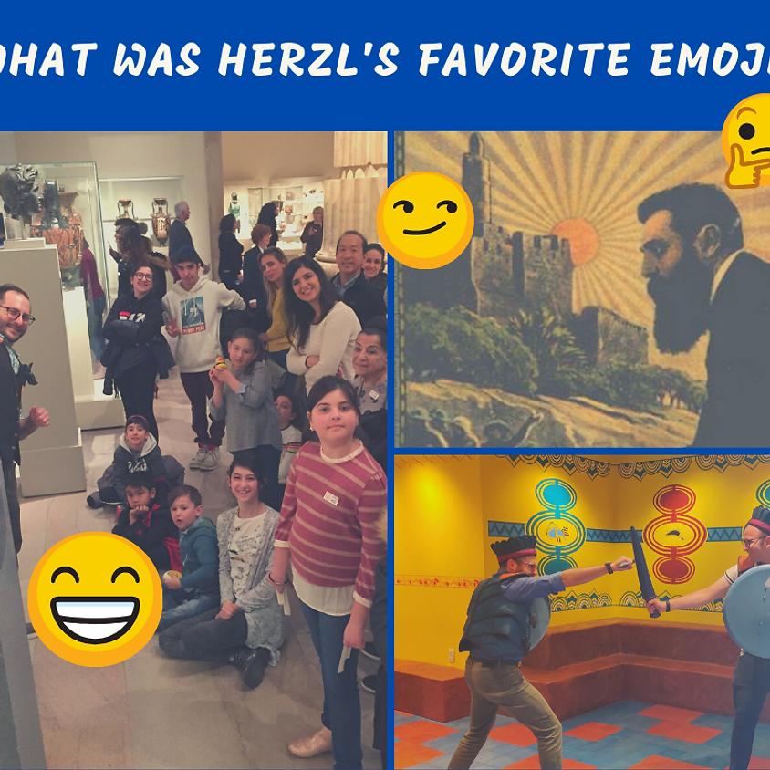 What was Herzl's Favorite Emoji?
