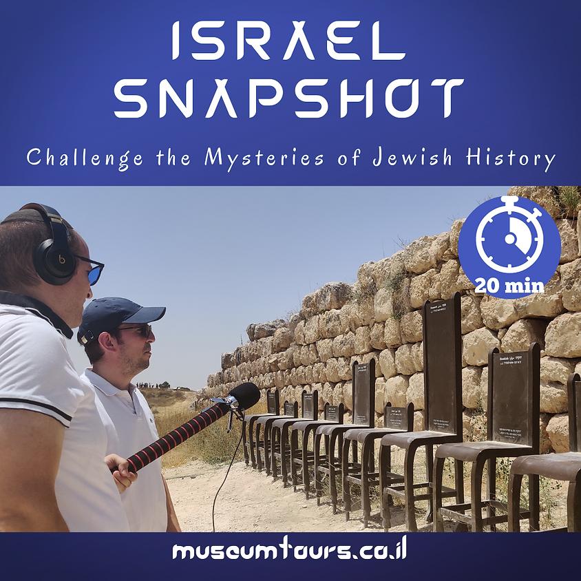 Israel Snapshot : Lachish Revealed!