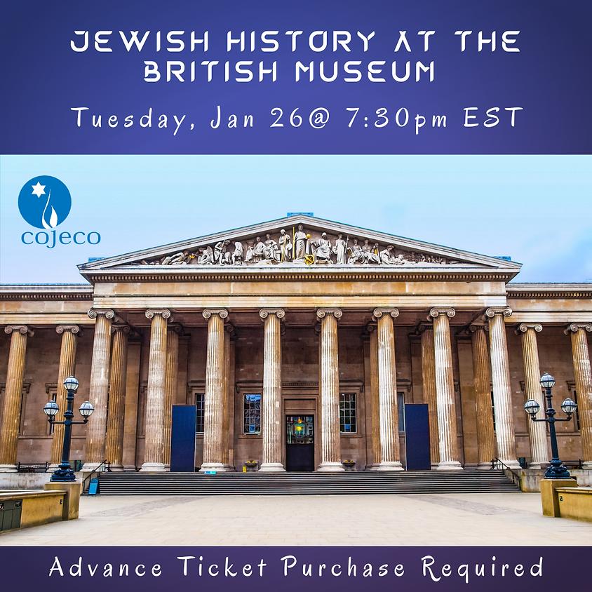 Jewish History at the British Museum ($10)