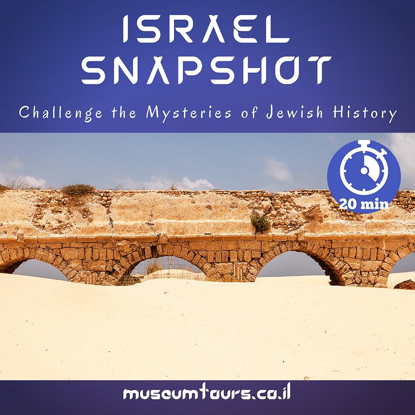 Israel Snapshot : Challenge the mysteries of Jewish history! Caesaria