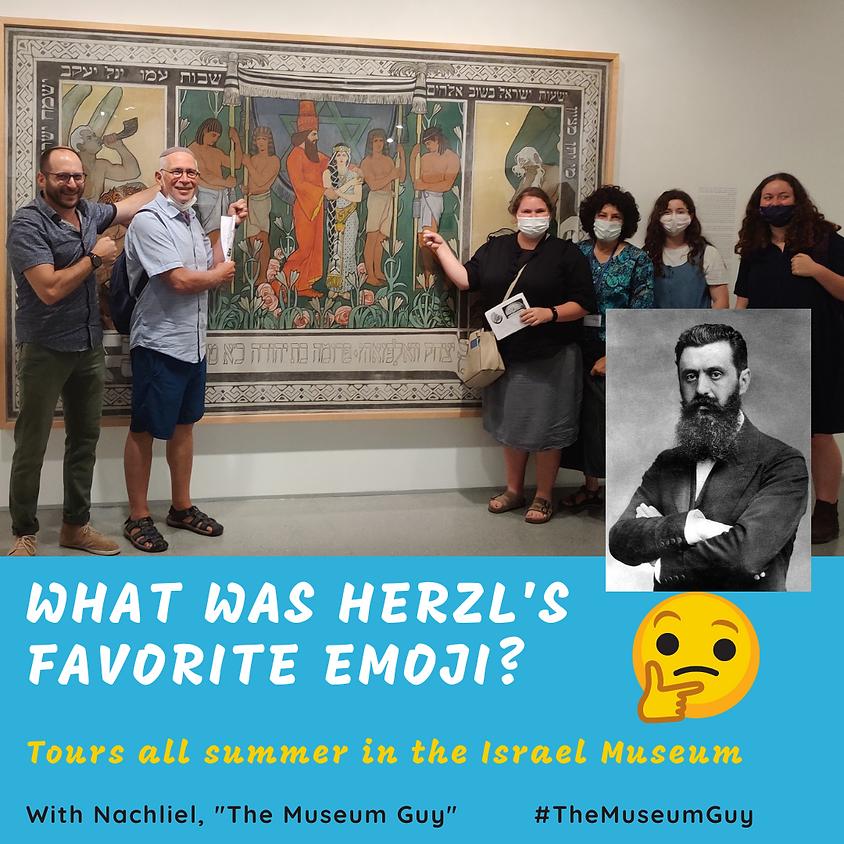What was Herzl's Favorite Emoji? July 27