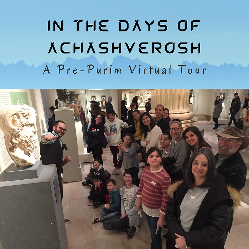 In the Days of Achashverosh (Israel Time!)