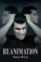 Vampire changing from a vampire to a human being. Reanimation book cover