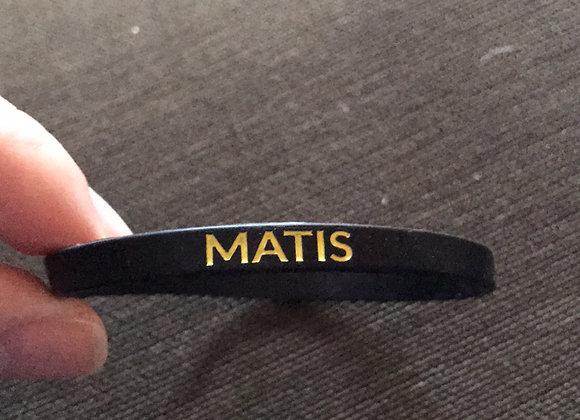 MATIS wristband yellow