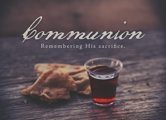 Communion Serving