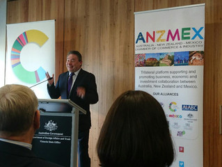 HE Dr David Engel meets ANZMEX in Melbourne