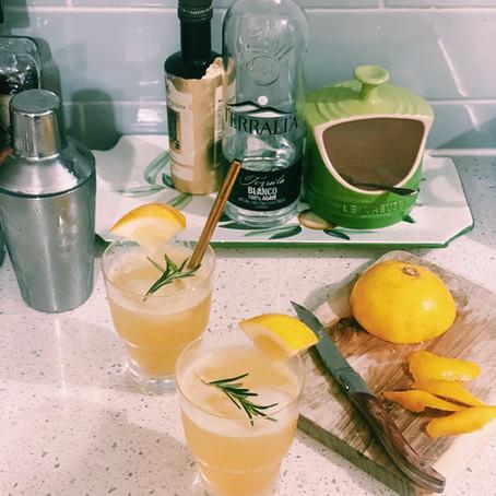 Rosemary Paloma Cocktail