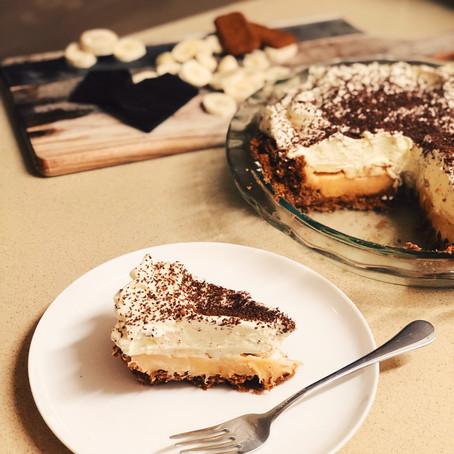 Biscoff Banoffee Pie