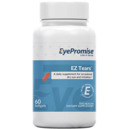 EZ Tears Dry Eye Vitamin take by mounth twice a day