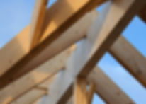 Framework of house under construction.jp