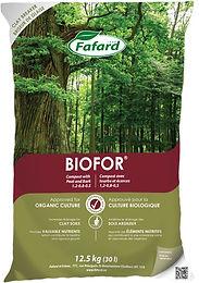 Compost Biofor avec tourbe et écorces