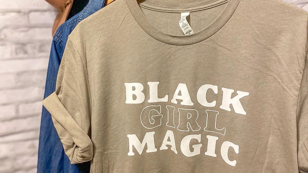 """Black Girl Magic"" Adult Tee"