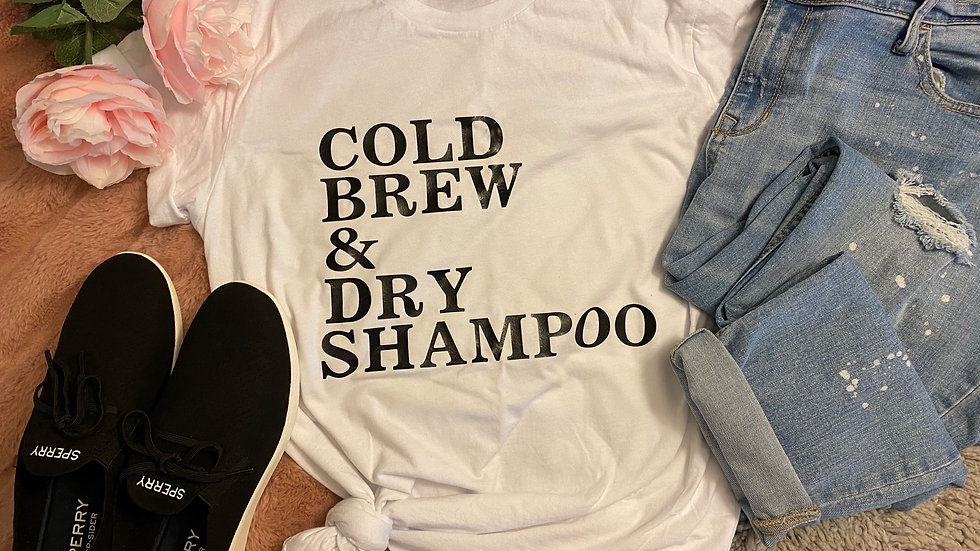 """Cold Brew"" Adult Tee"