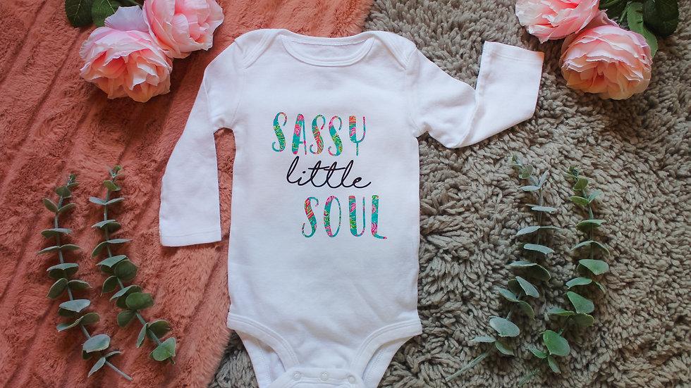 """""""Sassy Soul"""" Onesie"""