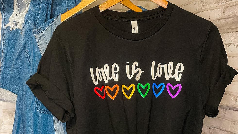 """Love is Love"" Adult Tee"