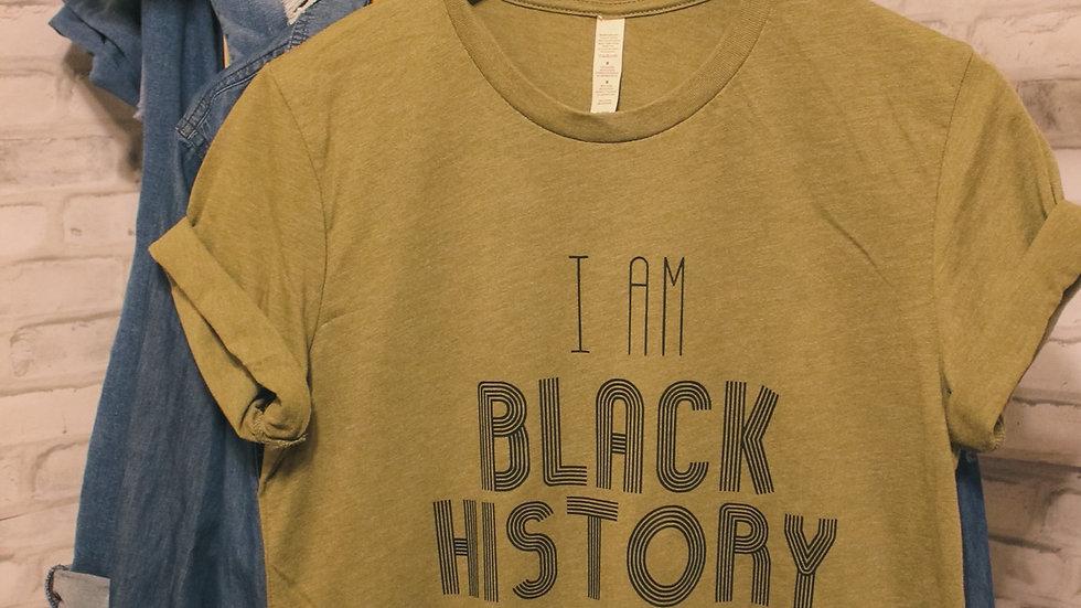 """""""Black History"""" Adult Tee"""