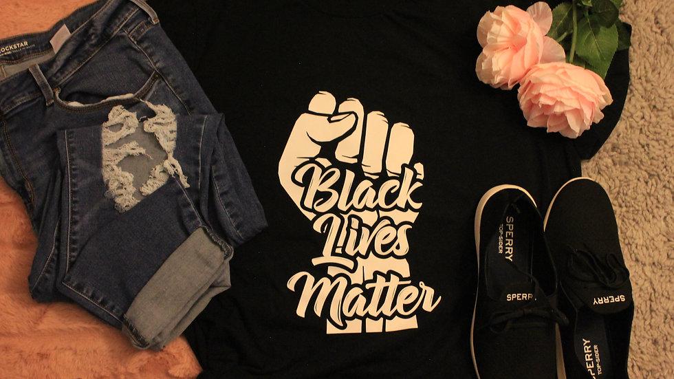 Black Lives Matter Adult Tee