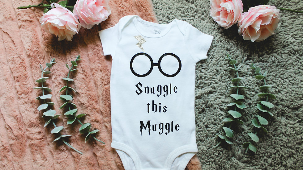 """Snuggle this Muggle"" Onesie"