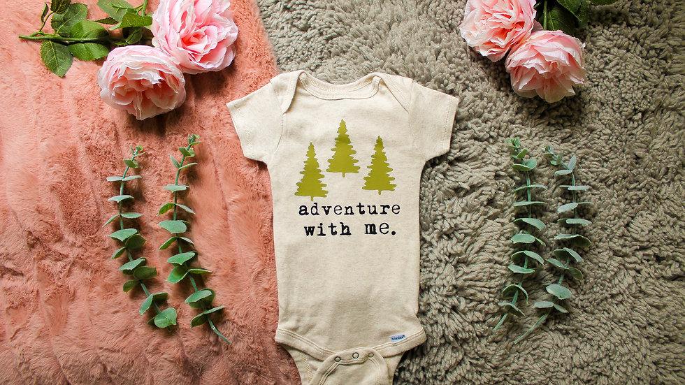 """adventure"" Onesie"