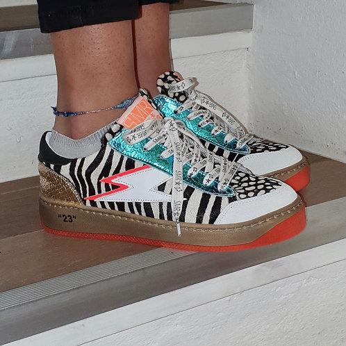 Sneakers SMR Zèbre