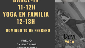 MASTERCLASS YOGA Y DANCE-IN