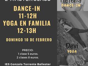 MASTERCLASS YOGA Y DANCE-IN