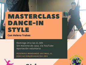 DANCEIN STYLE con Helena Trabas!!