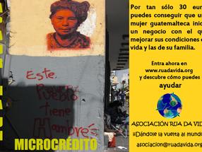 """""""Apadrina un Microcrédito""""."""