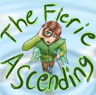 """""""The Fierie Ascending"""" Title Cover"""