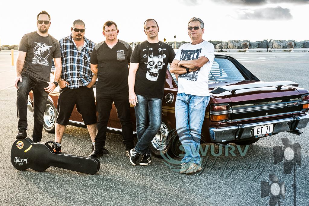 Band photoshoot session