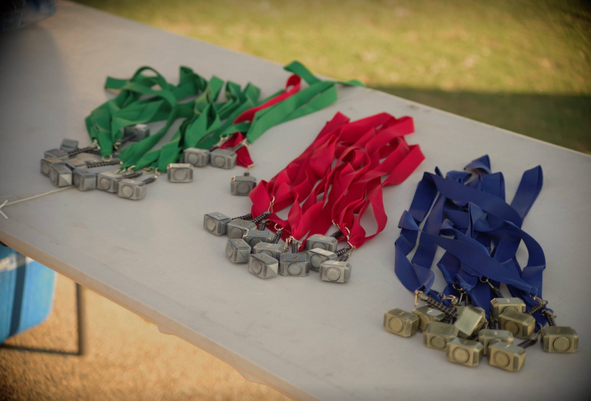 Exceed Super Sprint - medals