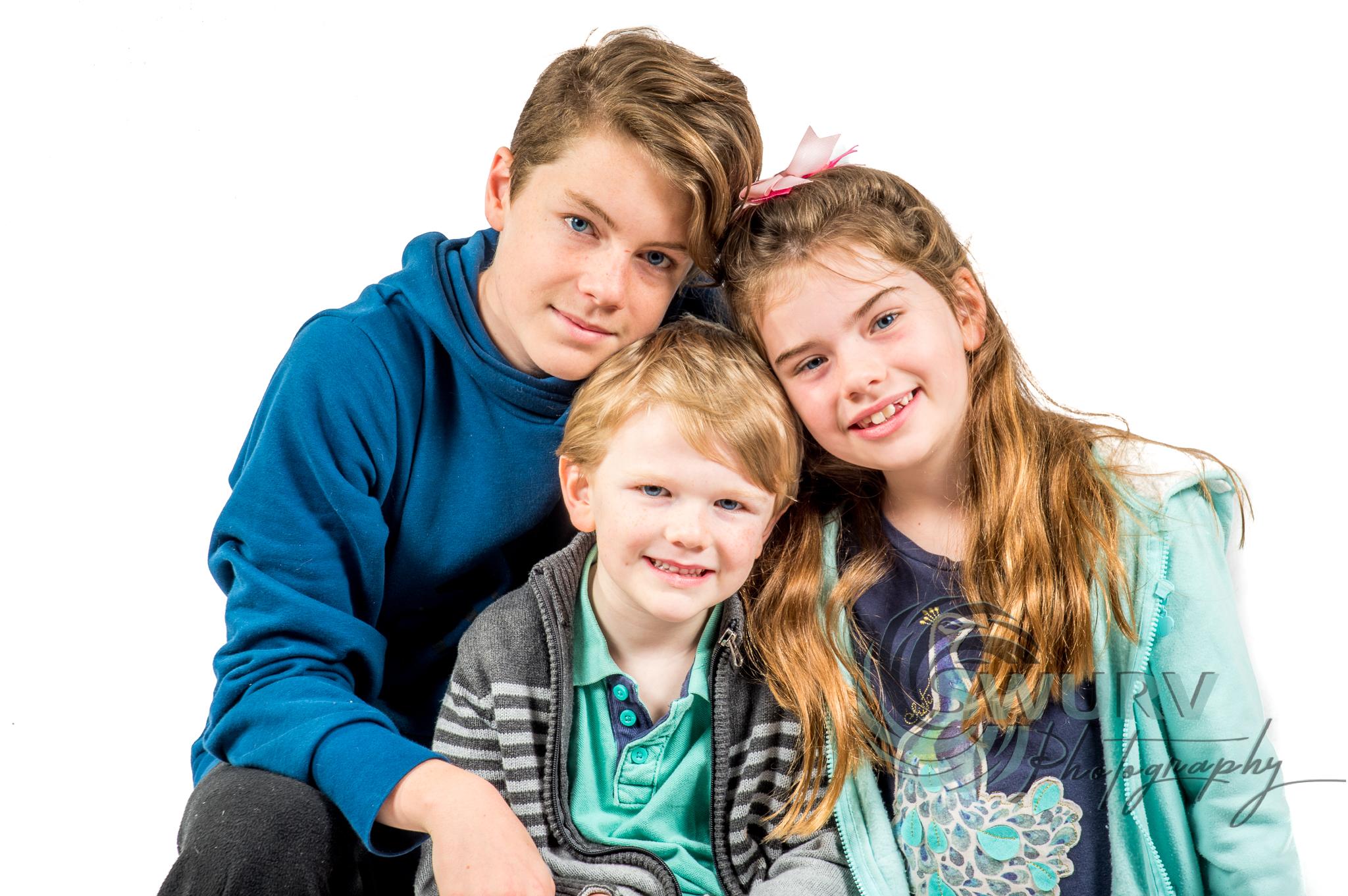 Nath, Eva and Sam