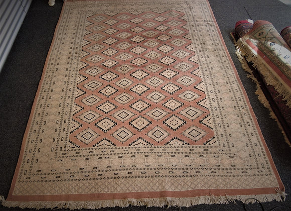 large hand knotted rug Pakistan
