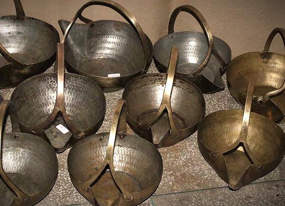 brass pans