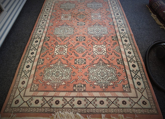 North Africa hand knotted wool rug