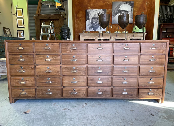 Teak Multi drawer sideboard
