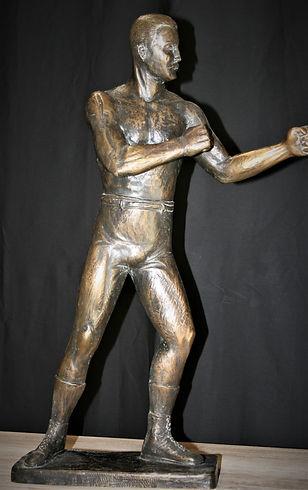 Bronze boxer 19c. 21gr63